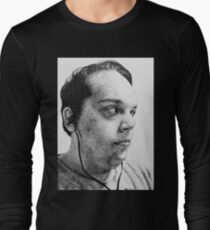 Self-Portrait Stippling Long Sleeve T-Shirt