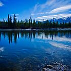 Takhinni River Reflections by Yukondick