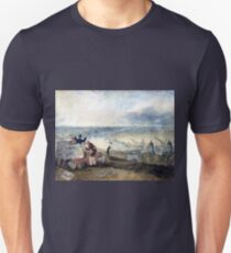 Joseph Mallord William Turner View of London from Greenwich T-Shirt