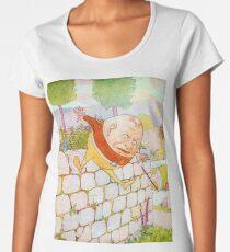 Humpty Dumpty, Nursery, Rhyme Women's Premium T-Shirt