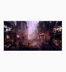 Fine Rain Photographic Print