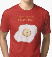 Fried Egg Tri-blend T-Shirt