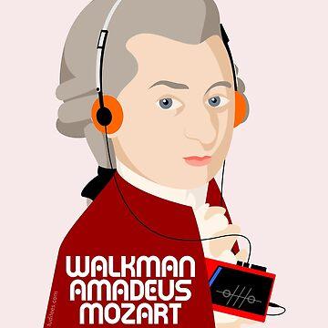 W. Amadeus Mozart by handcuffed