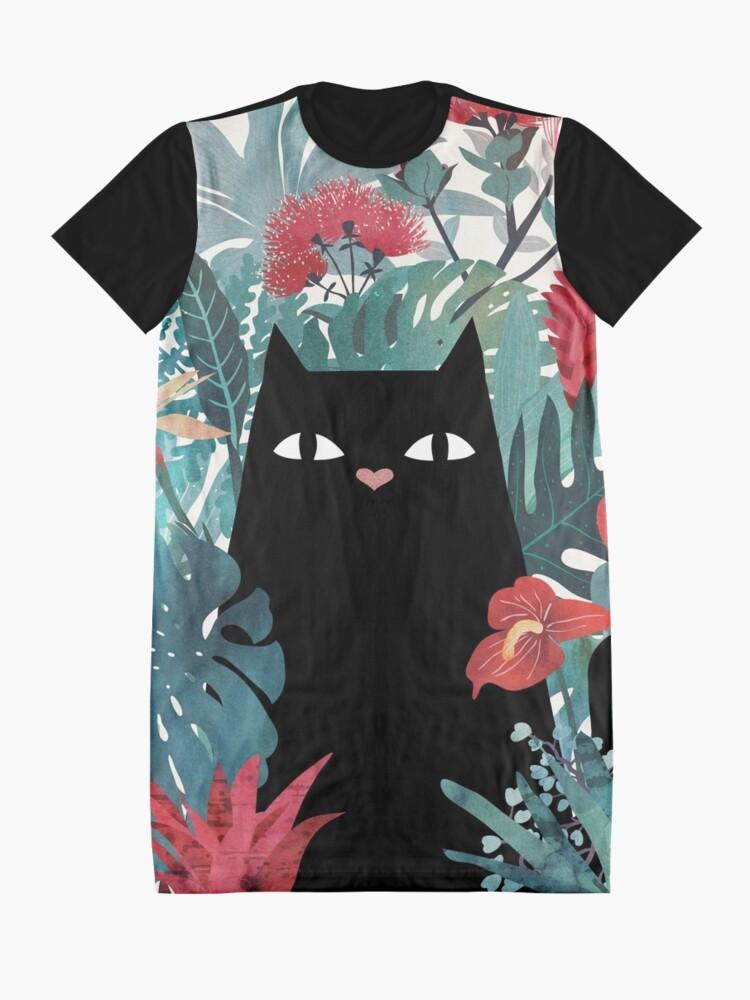 Alternative Ansicht von Popoki T-Shirt Kleid