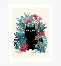 Popoki Art Print