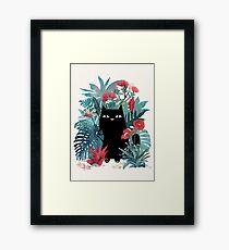 Popoki Framed Print