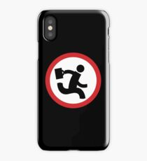 Chuck Bartowsky logo Buy More iPhone Case/Skin
