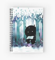 Cuaderno de espiral Un lugar tranquilo