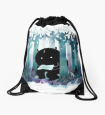 A Quiet Spot Drawstring Bag