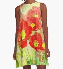 Poppyfied A-Line Dress
