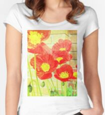Poppyfied Women's Fitted Scoop T-Shirt