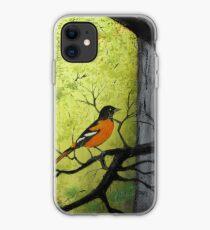 Baltimore Oriole iPhone Case