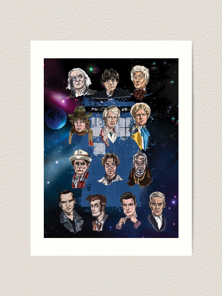 Alternate view of Lords of Time Collective Art Print