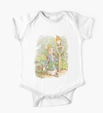 PETER RABBIT, Nursery Characters, Peter Rabbit, eating radishes, The Tale of Peter Rabbit One Piece - Short Sleeve