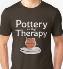 Pottery Funny Design - Pottery Is My Therapy T-Shirt