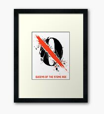 Queens Of The Stone Age logo Framed Print
