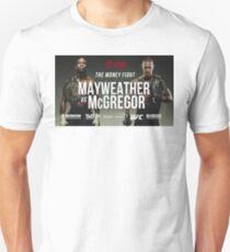 Floyd Mayweather Vs Conor McGregor #MayweatherMcGregor #McGregorMayweather T-Shirt