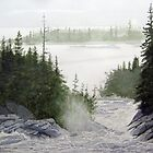 Aguasabon River by Douglas Hunt