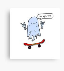 Ghost Guy 4 Canvas Print