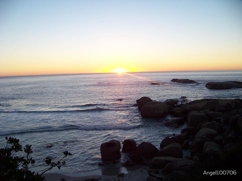 Sunset in Sandy Bay by Angel100706