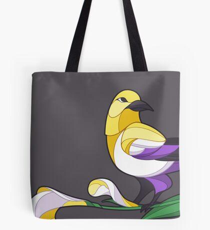 Pride Birds - Non-Binary Tote Bag