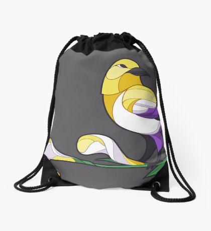 Pride Birds - Non-Binary Drawstring Bag