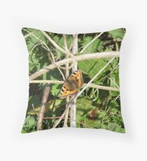 small tortoise shell Throw Pillow