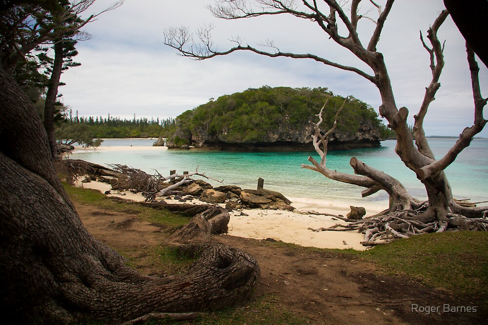Baie de Kanumera, Isle des Pins, New Caledonia by Roger Barnes