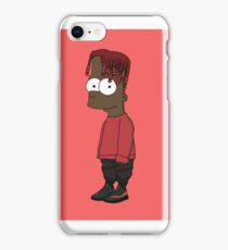 Lil Bart Simpson (Lil Yachty as Bart) iPhone Case/Skin