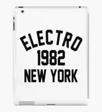 Electro 1982 New York iPad Case/Skin