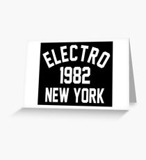 Electro 1982 New York Greeting Card