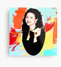 Julia Louis-Dreyfus  Metal Print