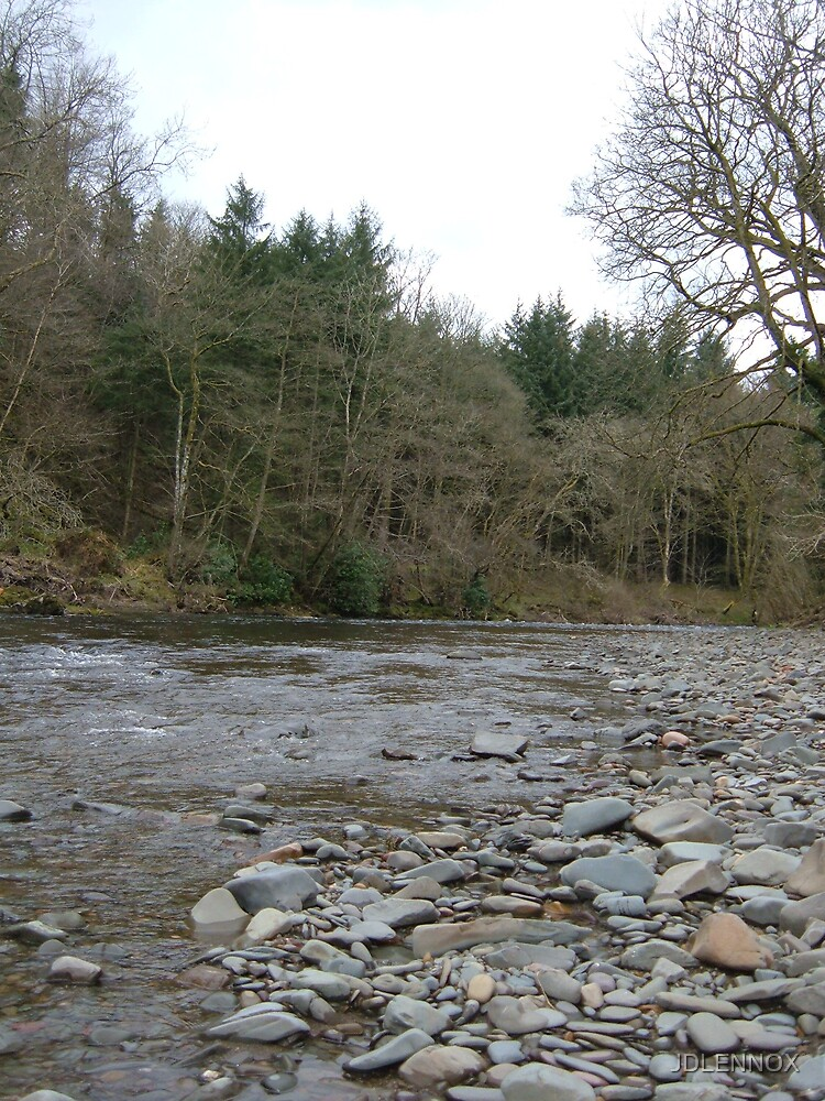 The river Esk by JDLENNOX