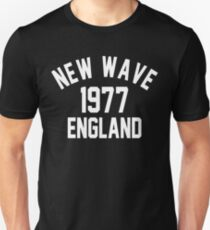 New Wave 1977 England Unisex T-Shirt