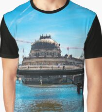 River Spree and Bode Museum Germany Berlin Graphic T-Shirt