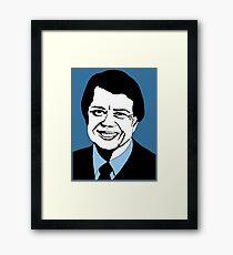 JIMMY CARTER-5 Framed Print