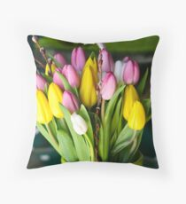Cookie Jar Kisses Throw Pillow