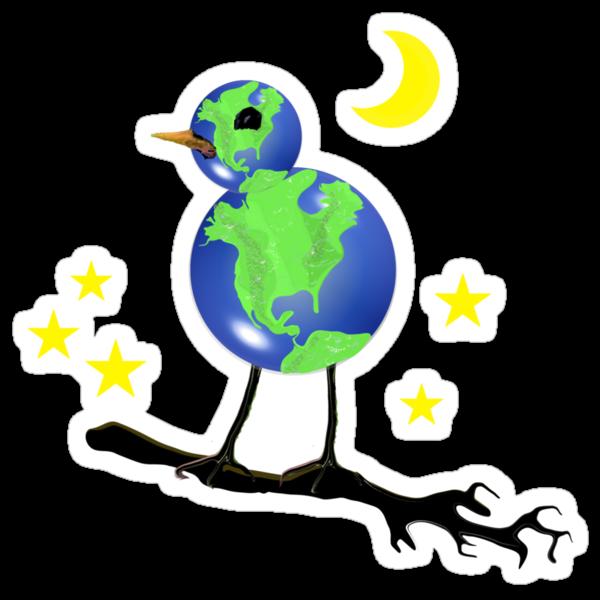 Global Bird For Earth Day by SaMack