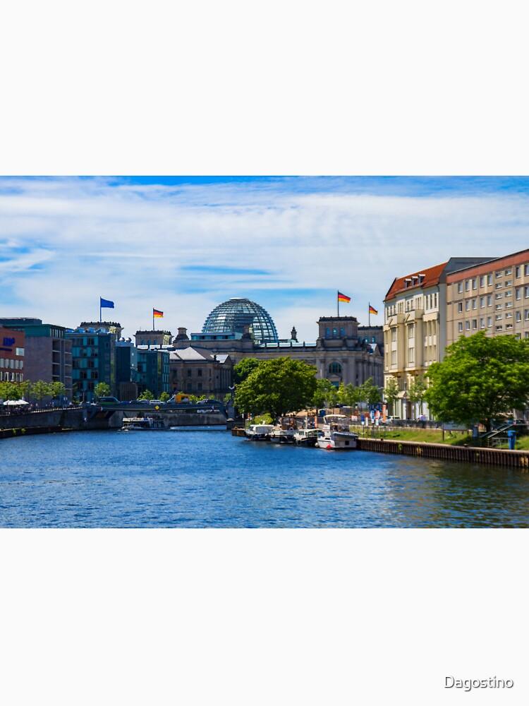 Germany Berlin - Reichstag Building by Dagostino