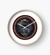 Earth Moon and the Universe! Clock