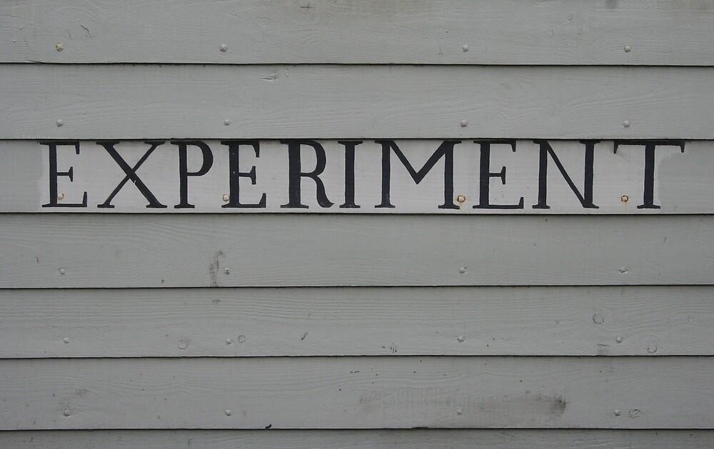 Experiment by littlesuperstar