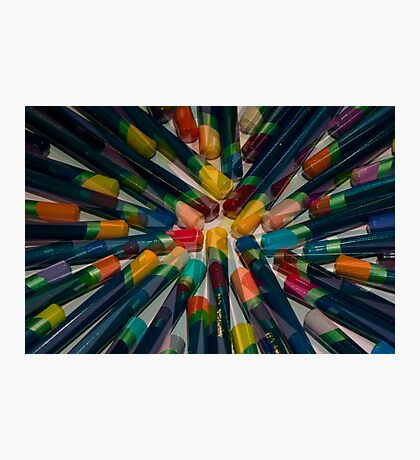 Colourful Tips Photographic Print