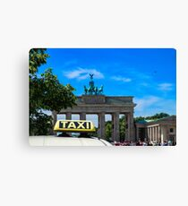 Germany Berlin Brandenburger Tor Canvas Print