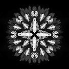 Mandala Macabre von Audrey Bowen