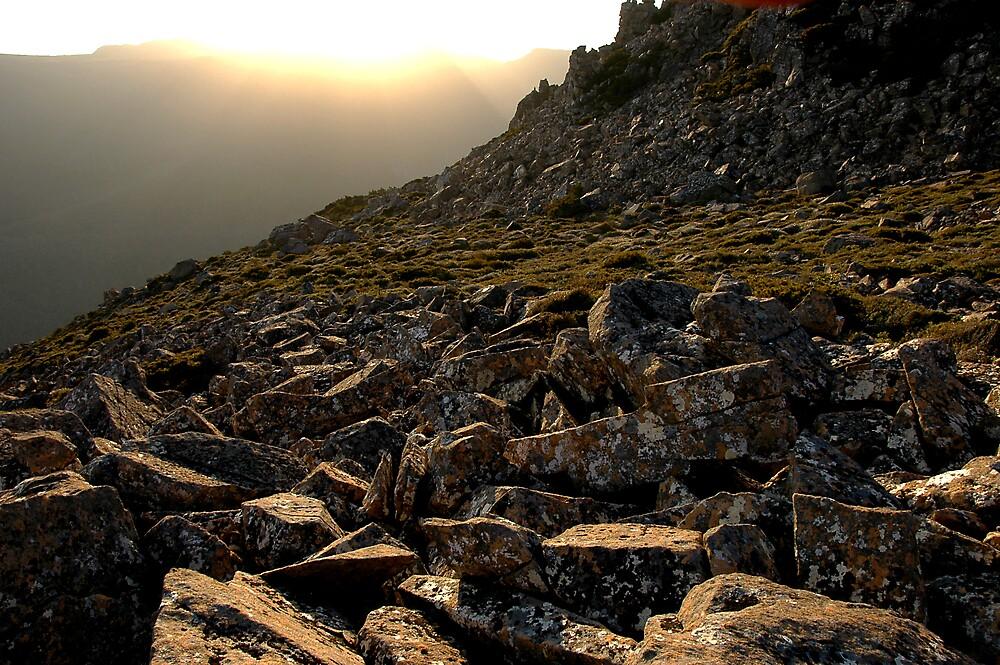 Sunset - Mt Field by Richard  Stanley