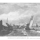 Entrance to Leith harbour, 1826 by Boxzero