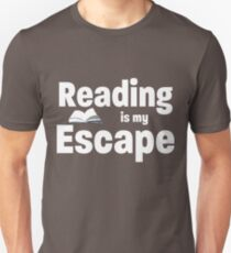 Reading Is My Escape - Reading Book Design Unisex T-Shirt