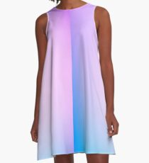 HASE - Plain Farbe iPhone Case und andere Drucke A-Linien Kleid