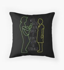 Dearly Departed Throw Pillow