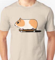 Guinea Pig on Skate Unisex T-Shirt